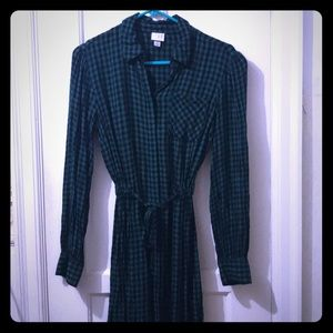 Green Plaid Shirt dress from a*new*day
